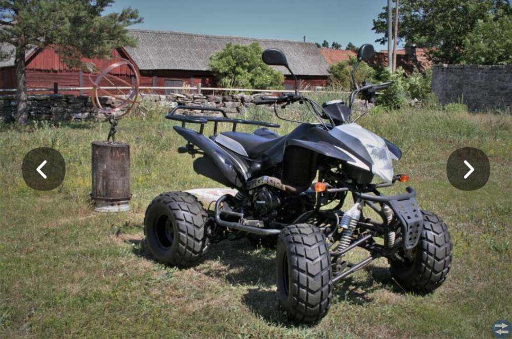Fyrhjuling 200 Vägreggad