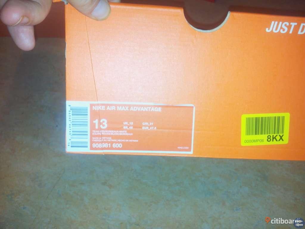 Nästan Nya Nike air Zoom i stl 46 1/2 (nypris 1299kr Zalando) kvitto finns