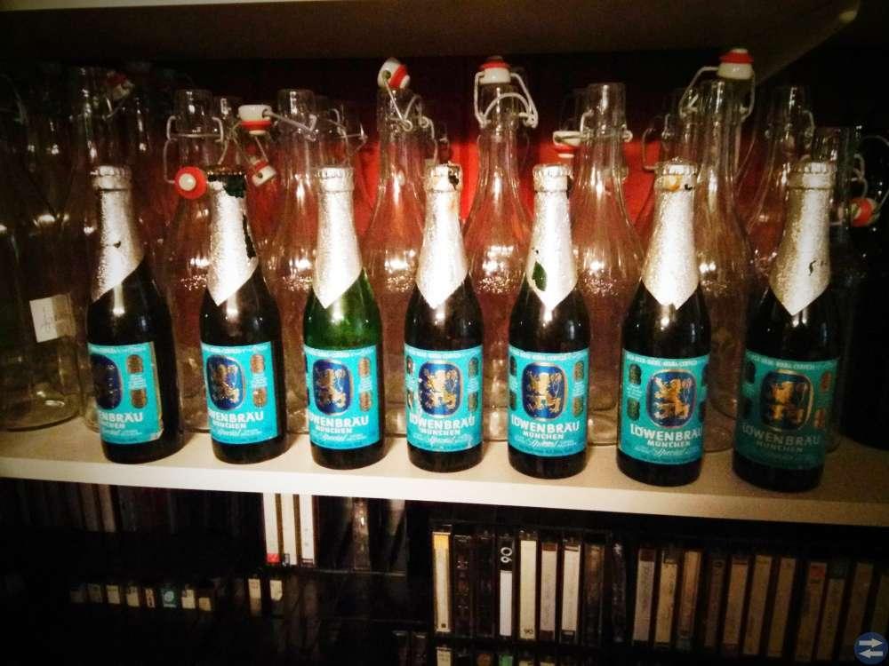 Samlarflaskor oöppnade 40-åriga Öl