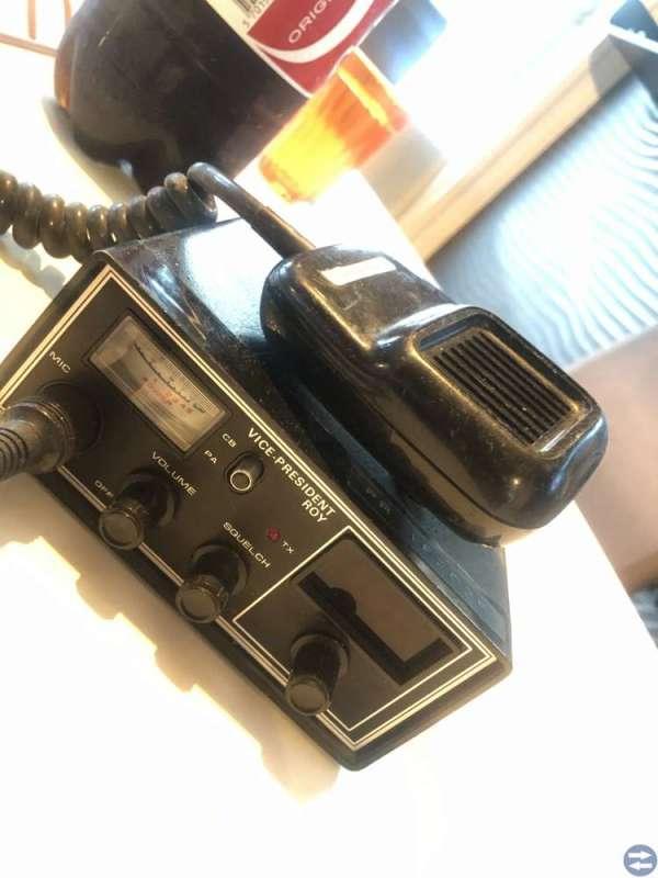 Retro Kommunikationsutrustning