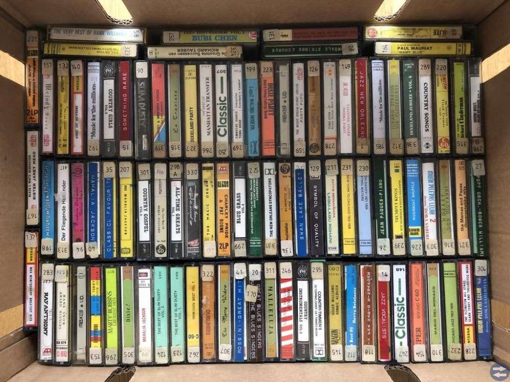 musik kassetter