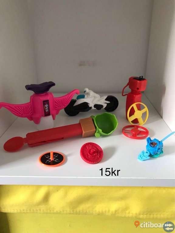 Blandade leksaker