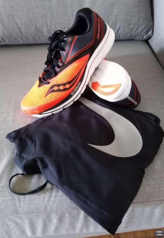 Saucony löparskor och Nike tights
