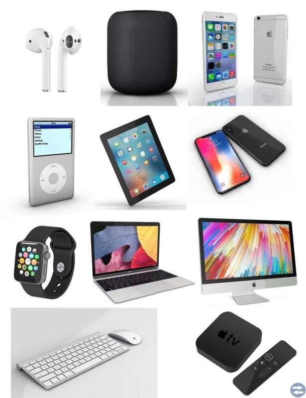 Senaste Apple Macbook Apple iPhone Apple iPad och