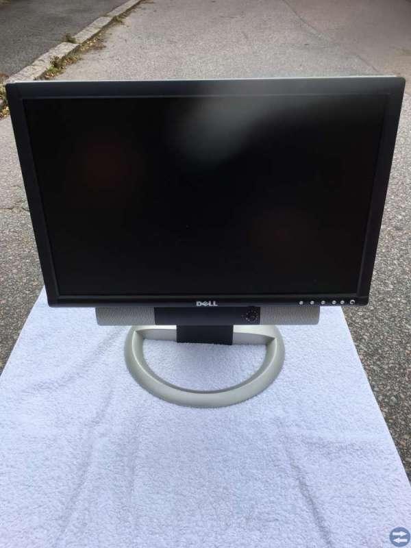 Dell bildskärm med högtalare