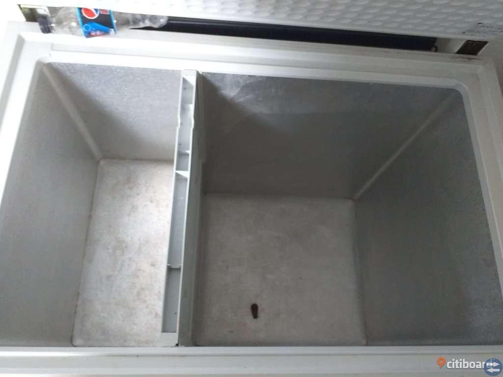 Stor liggande frysbox