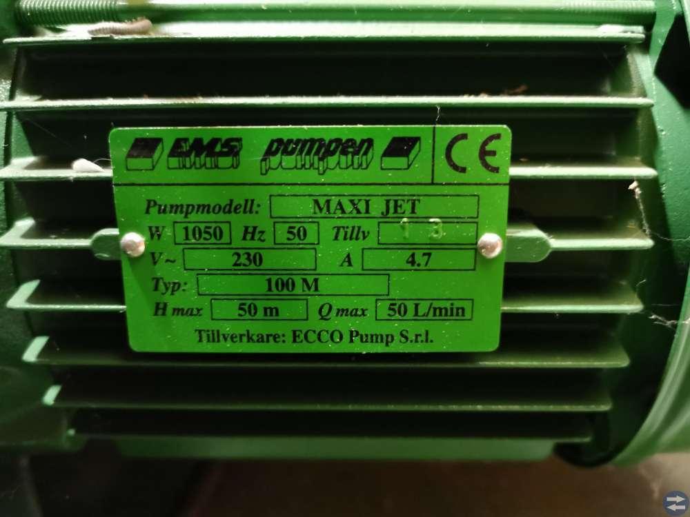 EMS Maxi-Jet 100M - NY Hydrofor & Bevattningspump