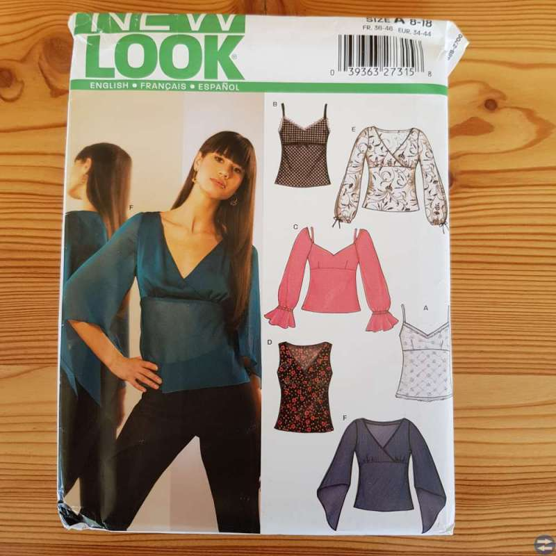 Symönster New Look, överdelar, st 34 - 44