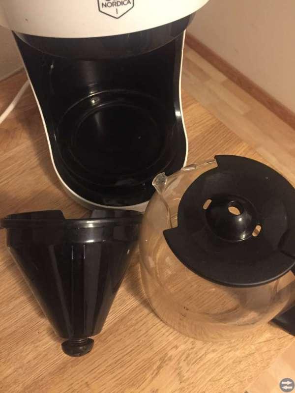 Kaffemaskin och juice maskin