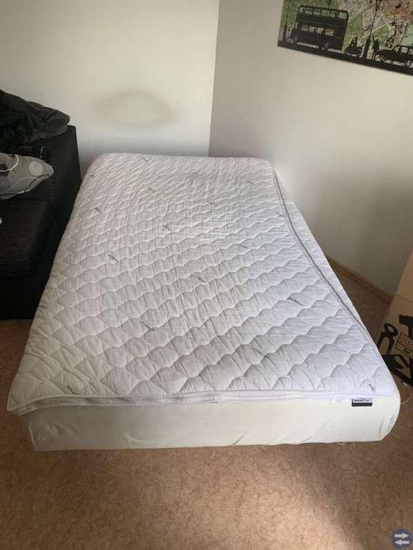 säng madrass 120
