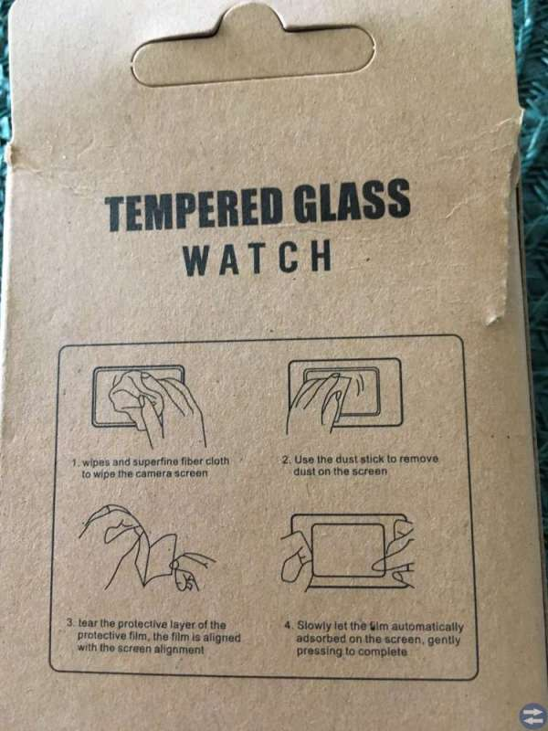 Apple watch screen protection