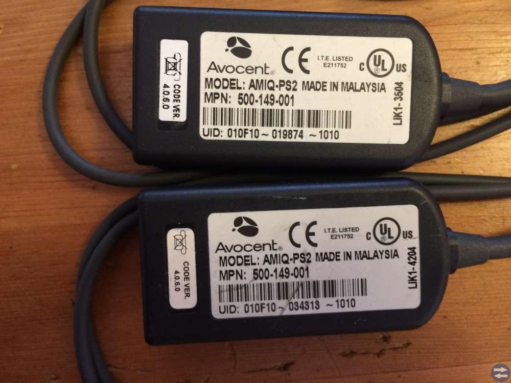 Avocent 6 stycken KVM-kabel PS2 till DSR1161 DSR21