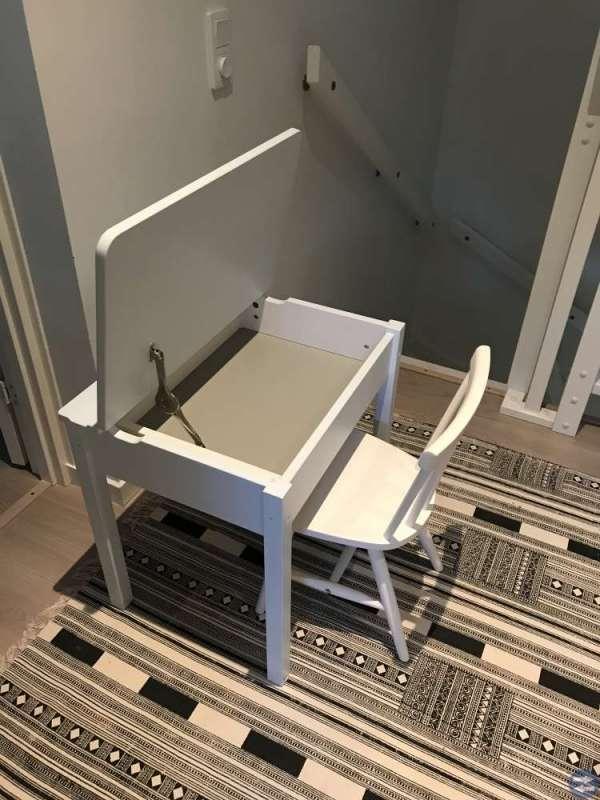Skrivbord/skolbänk stol lampa