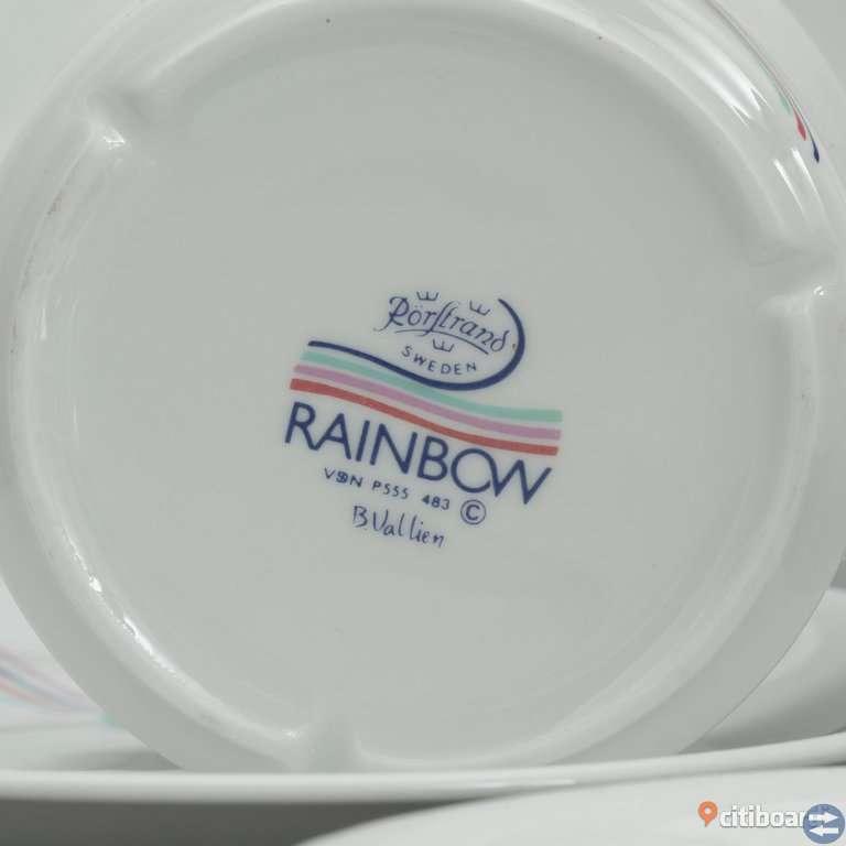 Assiett - Rörstrand, Rainbow