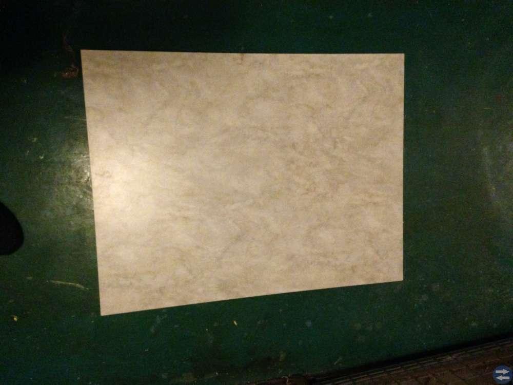 Bänkskiva laminat marmorerad
