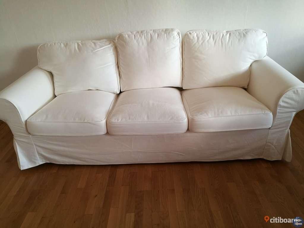 Ektorp soffa och fåtölj