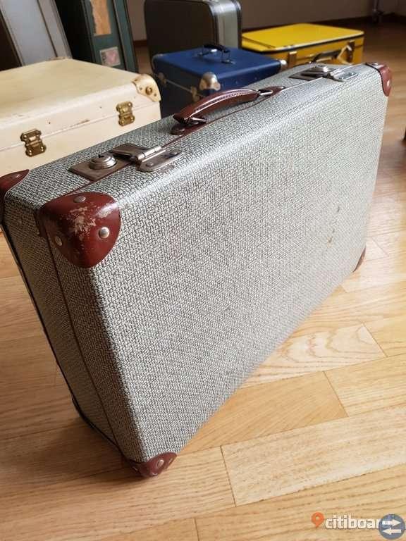 Vintage resväska/koffert.