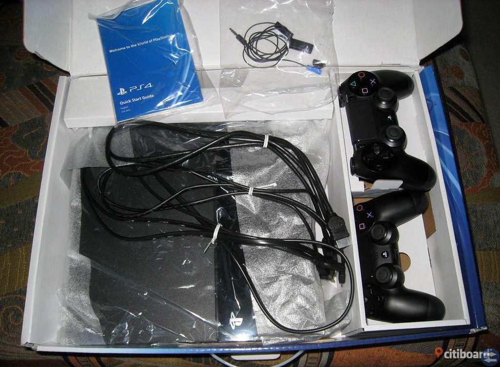 Nya jet black sony Playstion 4 pro -1TB
