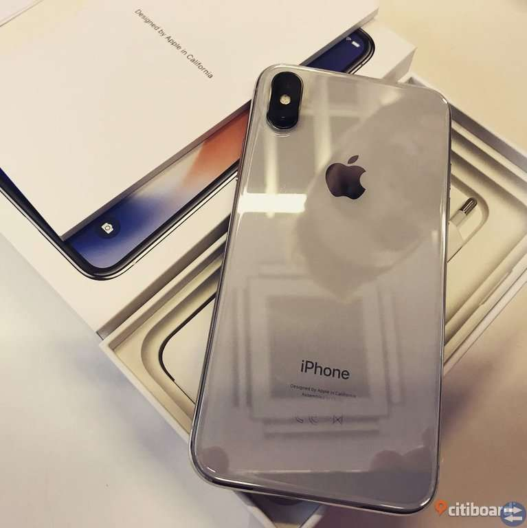 Nya Apple iPhone X - Xs MAX - 256GB olåst