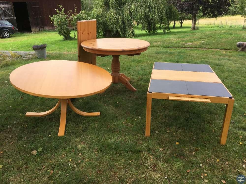 Välaktade fina bord