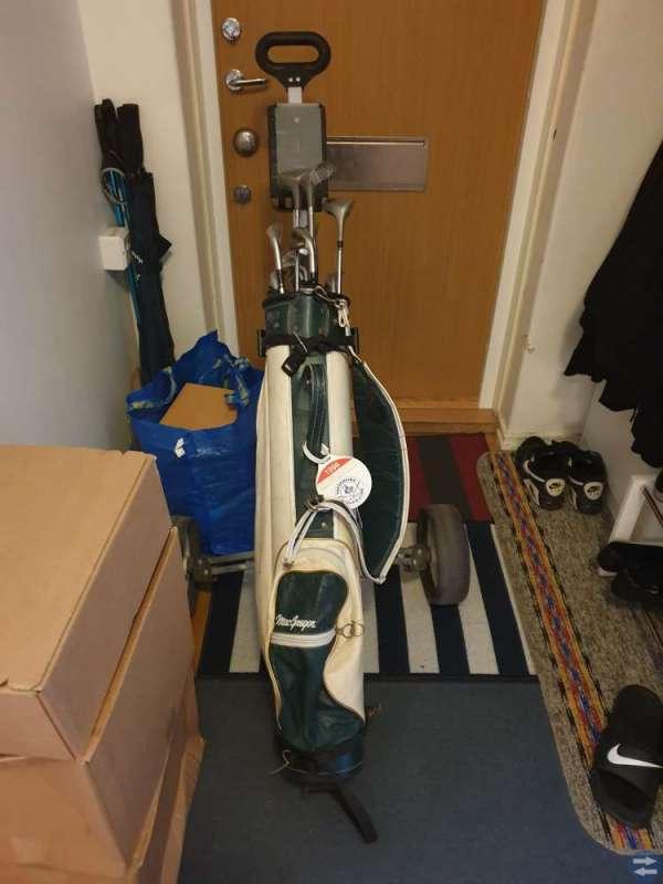 Komplett golfsett billigt