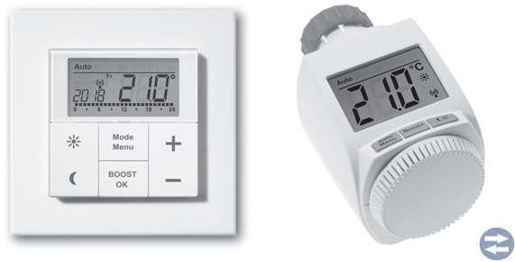 Trådlös termostat och Elementfläkten