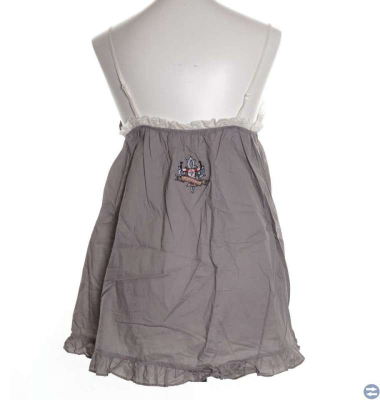 Dd Molly Private dress klänning, grå spets M/L