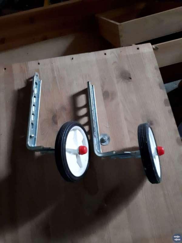 Stödhjul till barncykel