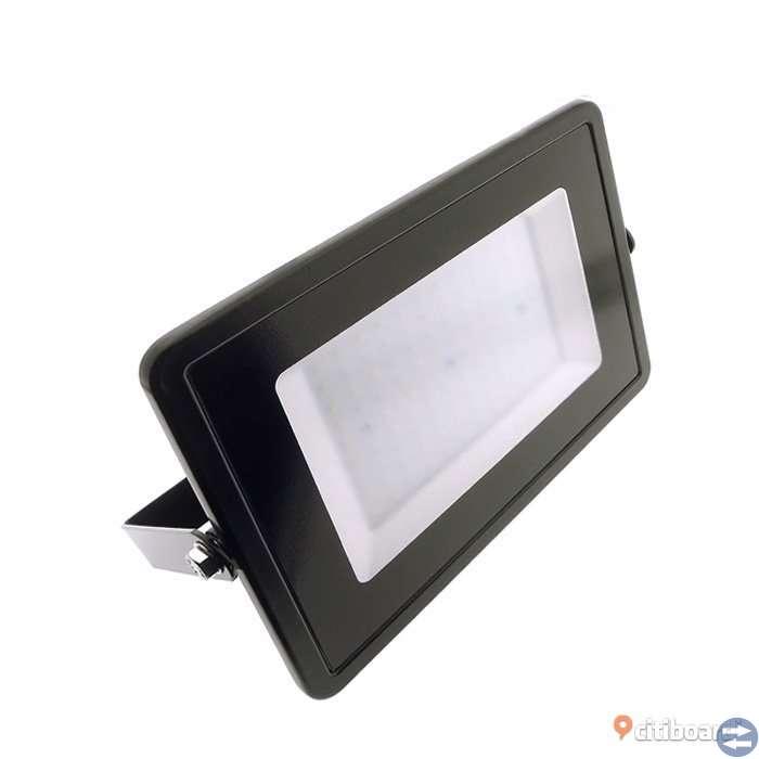 LED Strålkastare 100W SMD 4000K Ultra slim (30 mm)