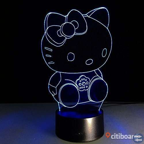 Hello kitty nattlampa