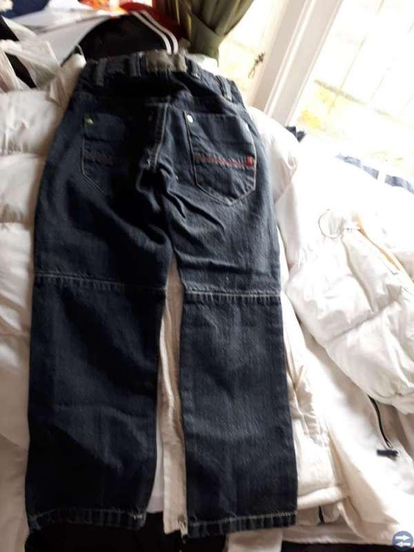 Mörblå jeans stl 128, Detroit