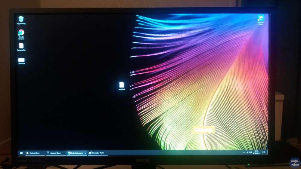 Dator, skärm