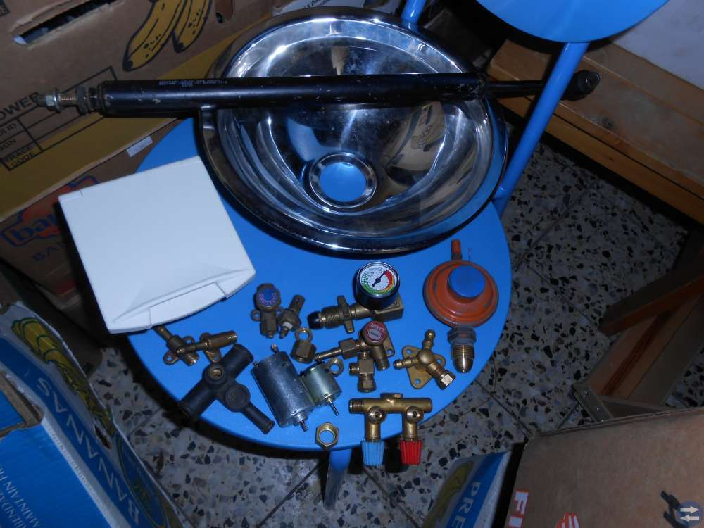 Alte värmepatron Primus värmare pump blå