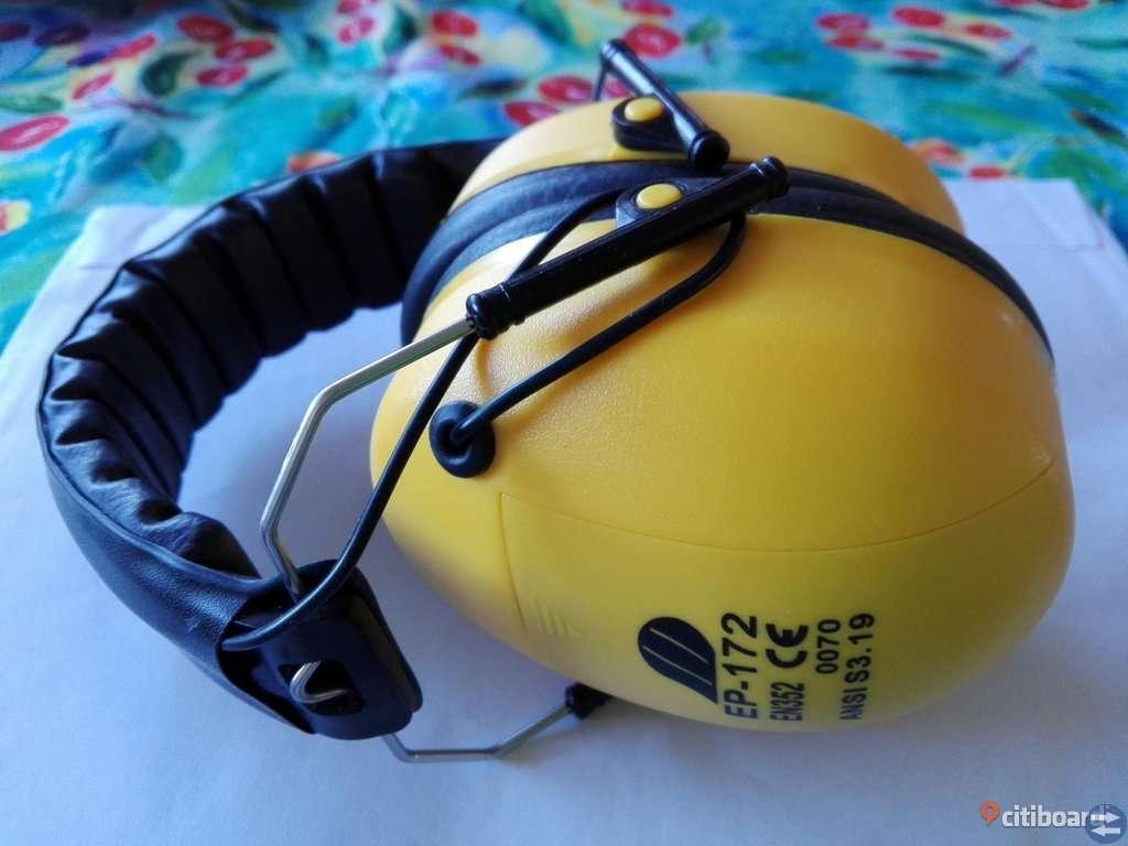 Hörselkåpor med inbyggd FM radio