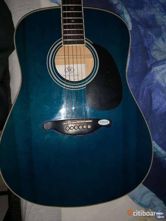 SX CUSTOM GUITAR BLUE