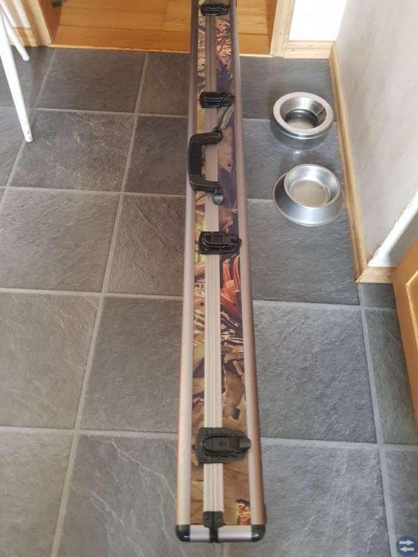 Vapenkoffert 1220mmx380mm Grön/brun