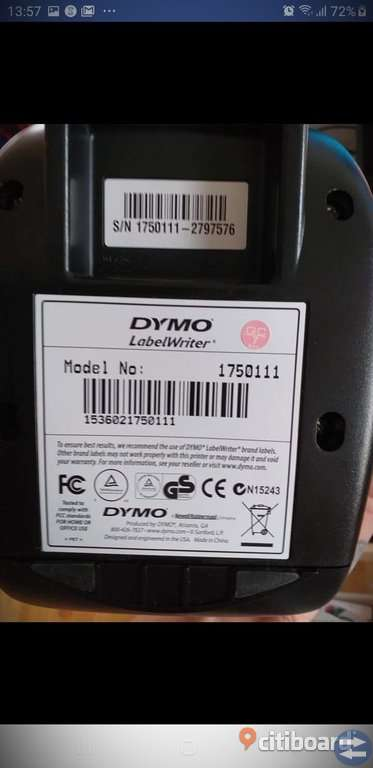 DYMO LabelWriter450 -  Bra Skick