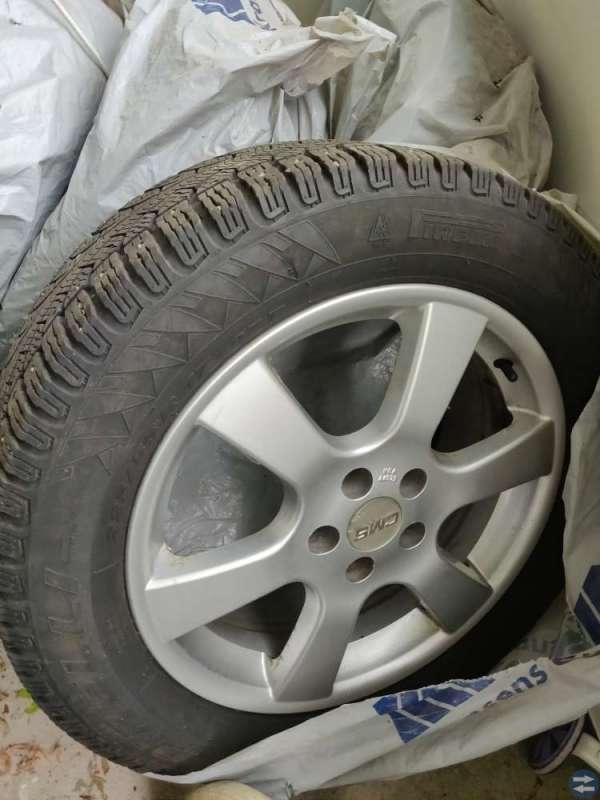 alufälgar med däck