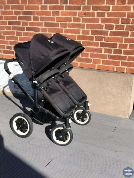 Bugaboo donkey duo all black