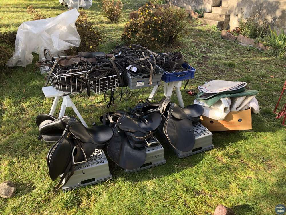 Kanontillfälle: Stor utrustning för hästsport