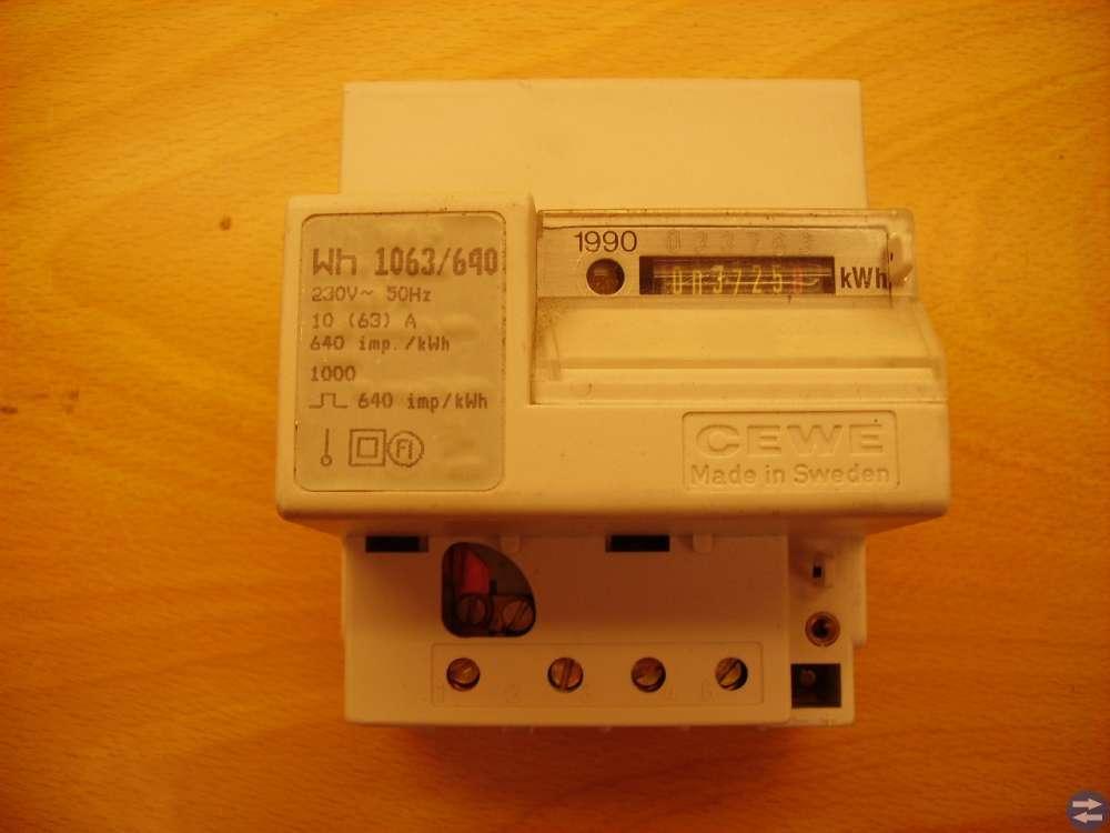 Energimätare / KWh-mätare.