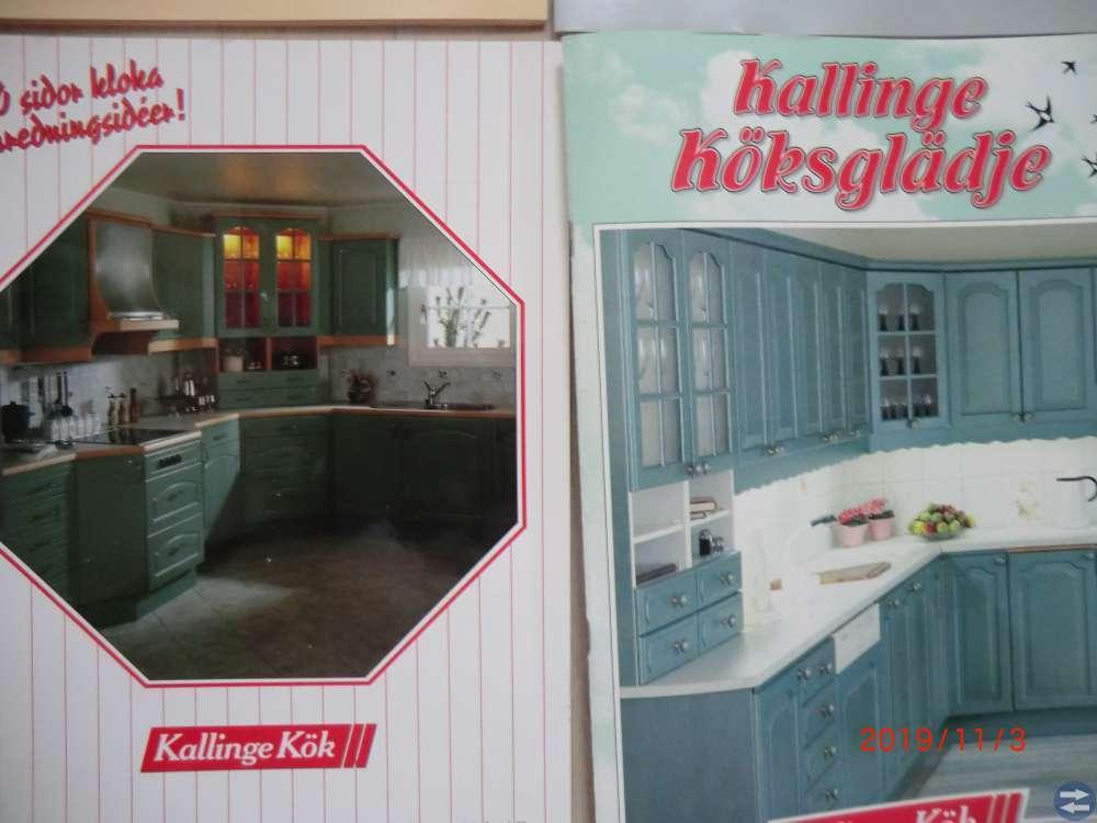 Försäljningsbroschyrer Kallinge Kök