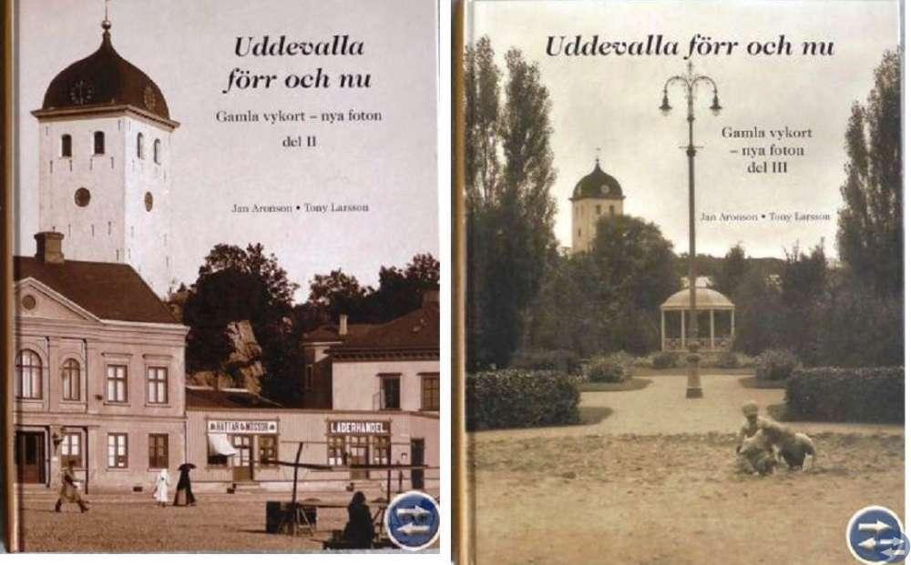 Bok med gamla bilder från Uddevalla Del II och III
