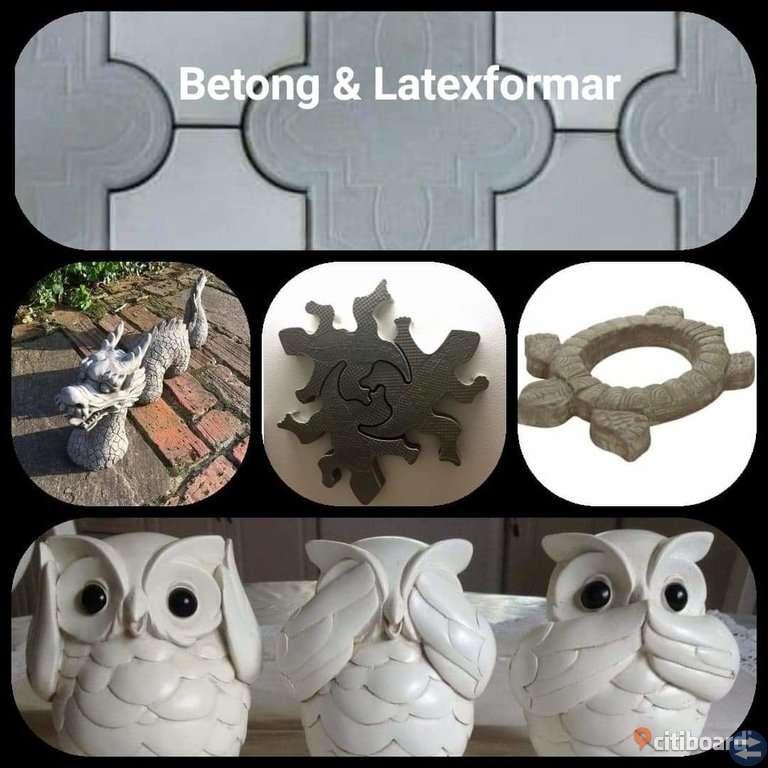 latexformar för betonggjutning