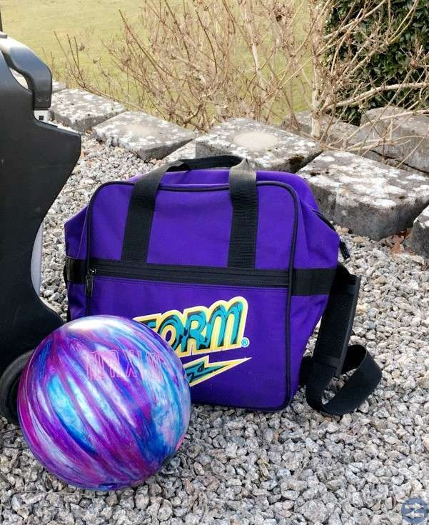 Bowlingklot & väska