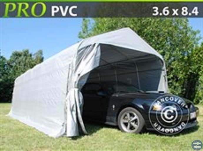 Garagetält PRO 3,6 x 8,4 x 2,7 PVC 7830: Halmstadtorget