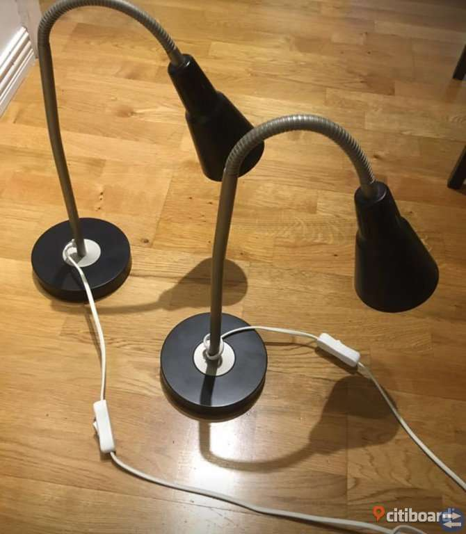 Sänglampor, bordslampor, skrivbordslampor