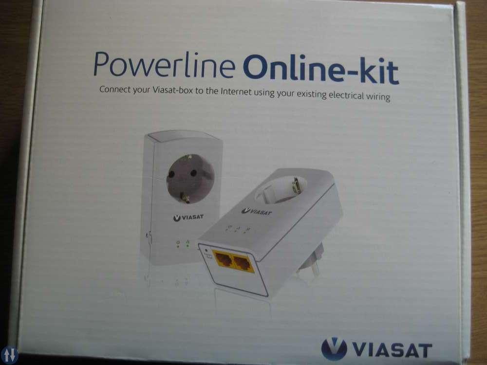 powerline online kit viasat
