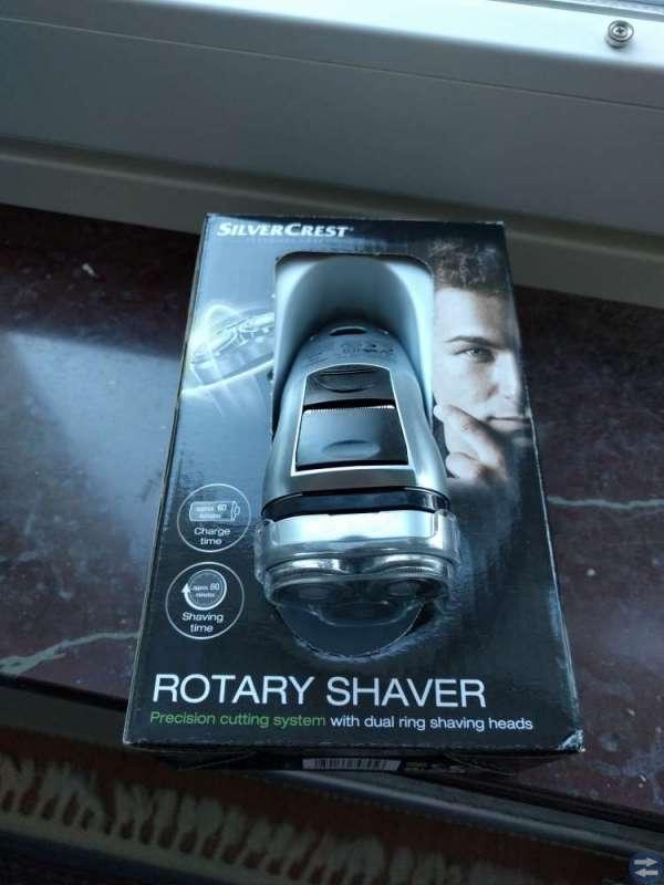 Rotary shaver
