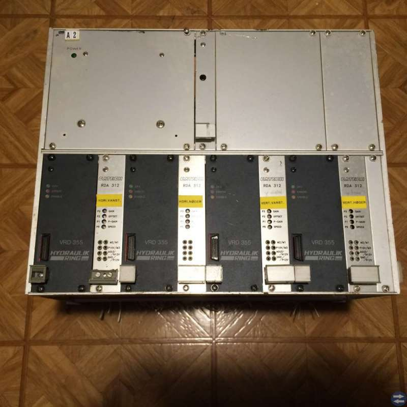 Kortram för europakort 100x160 med nätdel 24V 10A